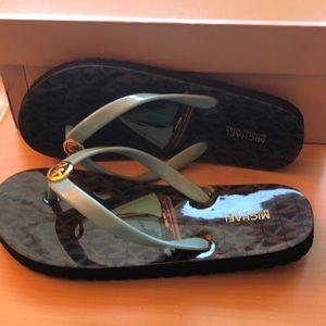 Michael Kors Flip Flops Size 6 BNIB